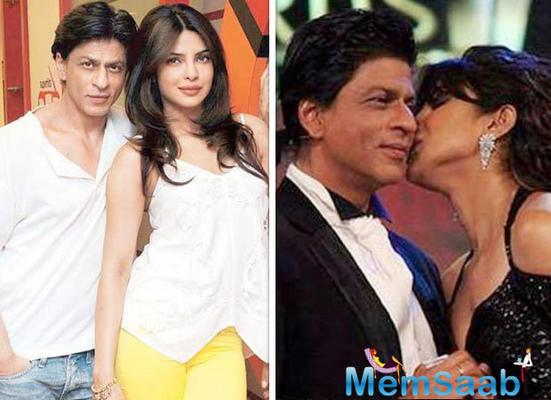 Shah Rukh Khan and Priyanka Chopra acknowledge each other after years