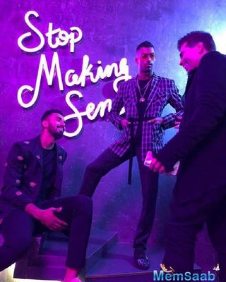 Karan Johar and K L Rahul laughing off at his 'funny and cool' attitude towards women, which was full of objectifying them, treating them as sexual objects were disheartening.