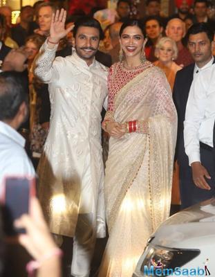 Ranveer Singh on wife Deepika Padukone: She is so gharelu, I love it