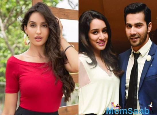 Nora Fatehi joins Varun Dhawan and Remo D'Souza for ABCD 3