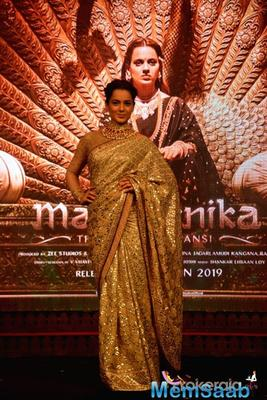 Asked if Manikarnika makers faced any pressure from the Thackeray team to change the release date of her film,