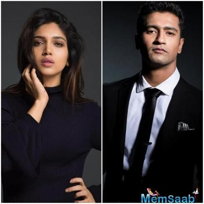 Apart from Karan Johar's Takht, Bhumi Pednekar has also landed a role in one of his productions, which stars Vicky Kaushal.