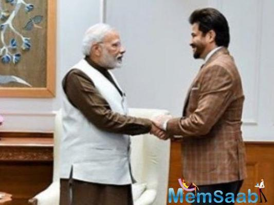 Anil Kapoor on meeting PM Narendra Modi: His vision and his charisma are infectious