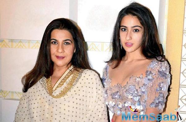 Sara Ali Khan in Dehradun as mother Amrita Singh in legal wrangle
