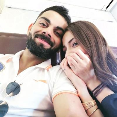 Anushka Sharma and Virat Kohli are the cutest couple that everyone is obsessing over.