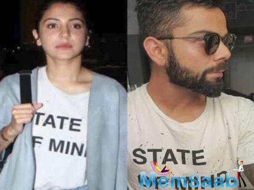 Anushka Sharma and Virat Kohli were snapped by a fan on the streets of Havelock North in New Zealand.