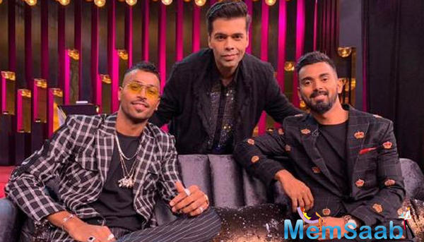 Finally Karan Johar talk on Hardik Pandya, KL Rahul KWK controversy: 'I feel very responsible'