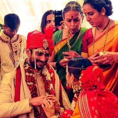 The two have been dating from past two years, and now, officially tied the knot in Lucknow in the presence of their family and friends.
