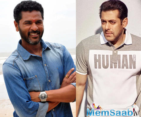Prabhudheva gears for Salman Khan's upcoming 'Dabangg 3'