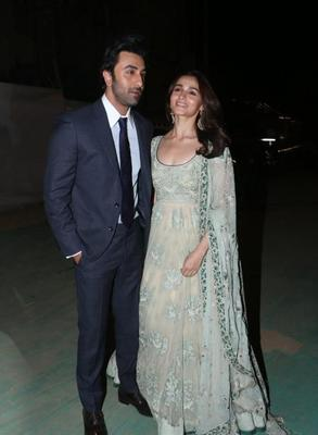 Umang 2019: Ranbir Kapoor and Alia Bhatt make for a stunning couple in these photos