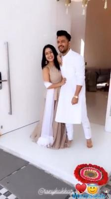 Neha Kakkar shares glimpses of the Griha Pravesh ceremony of her, Tony Kakkar And Sonu Kakkar's Home
