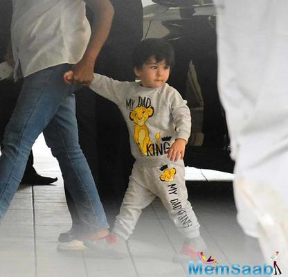 Taimur Ali Khan is clearly the fashionista for all the kids out there and this picture is proof