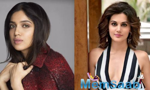 Taapsee Pannu and Bhumi Pednekar to feature in Anurag Kashyap's Saand Ki Aankh
