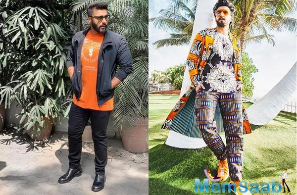 Arjun Kapoor trolls Ranveer Singh and the internet can't keep calm