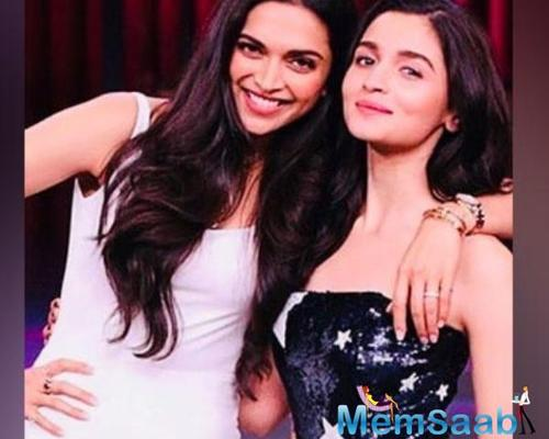 Alia Bhatt says god has spent love and time in Deepika Padukone's creation; calls her one of her favourites