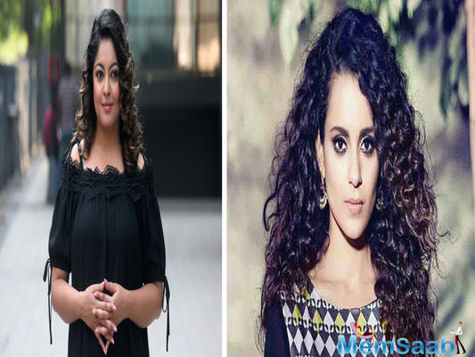 "Tanushree Dutta on Sunday claimed that Kangana Ranaut is a ""bonafide A++ list actress."""