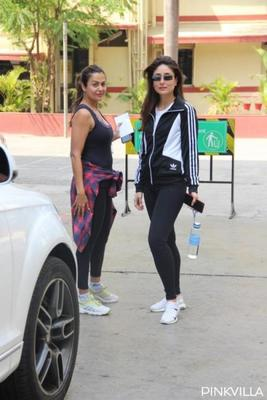 Kareena Kapoor and Amrita Boomerang into Valentine's Day proving it is always fun to work out with your BFF