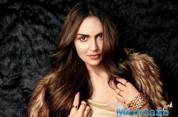 Esha Deol on motherhood