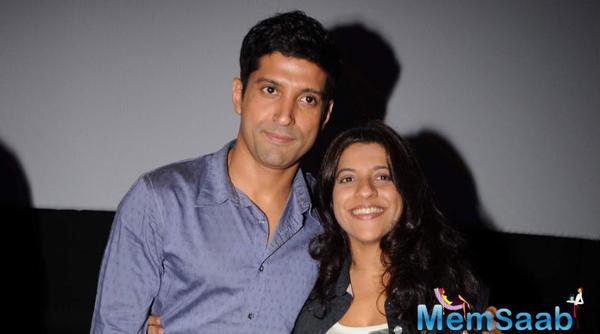 Farhan Akhtar advises Zoya Akhtar to take holiday break after Gully Boy release