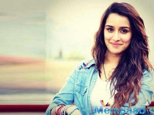 Shraddha Kapoor strikes a quirky pose up in the air for her upcoming next