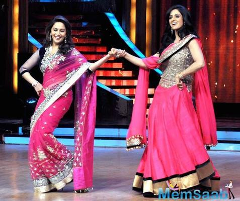 Will Madhuri Dixit play Sridevi in the biopic?