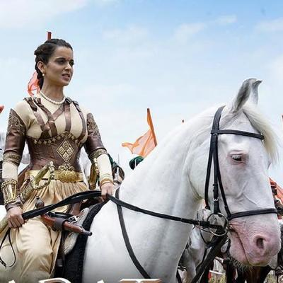 Recently, a video of Kangana Ranaut was leaked online from Manikarnika where she was seen riding a mechanical horse for a shot in the film.