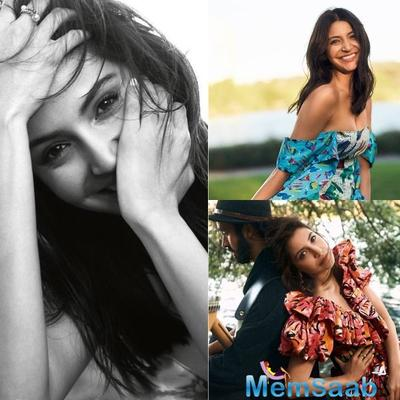 Vogue India: Anushka Sharma is here to remind us that spring is here!