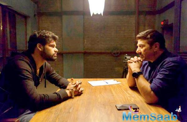 Dimple Kapadia's nephew Karan Kapadia and Sunny Deol in one frame