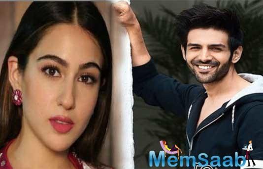 Kartik Aaryan-Sara Ali Khan's liplock scene from Love Aaj Kal 2 leaked!