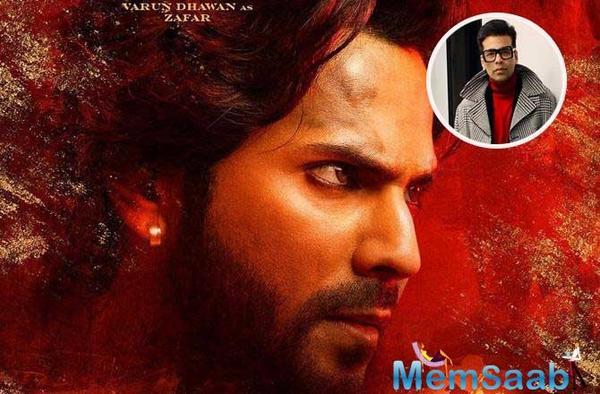 Kalank: Karan Johar shares Varun Dhawan's first look from the period drama