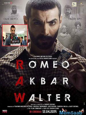 John Abraham doesn't plan to stop. At least that's what it seems like with his recent line-up of films! The actor will be seen next in Romeo Akbar Walter (RAW) alongside Mouni Roy, a spy-thriller based on the India-Pakistan conflict of 1971.