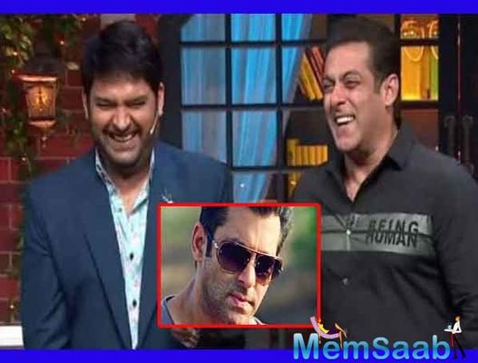 The Kapil Sharma Show to now move to Salman Khan's own channel?