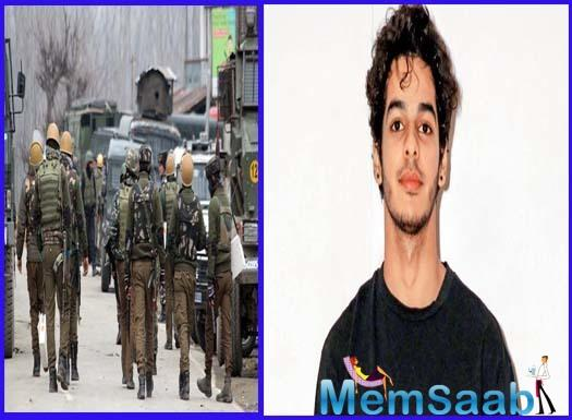 Ishaan Khatter to star in the film based on the Pulwama attack