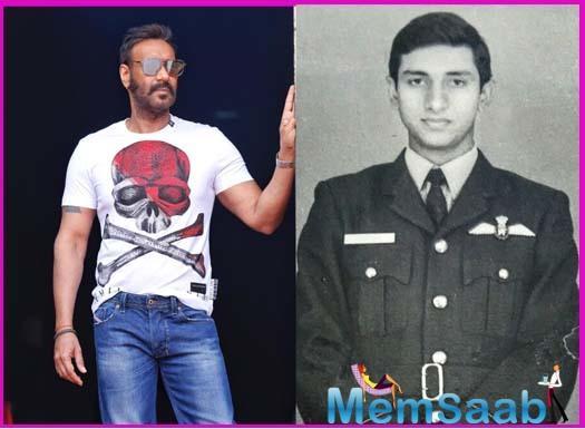 Ajay Devgn to play squadron leader Vijay Karnik in his next, Bhuj: The Pride of India