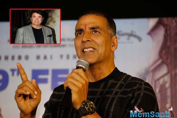 Did you know Akshay Kumar featured in this Randhir Kapoor film as a child artist?