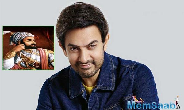 Aamir Khan keen to play Chhatrapati Shivaji Maharaj on screen