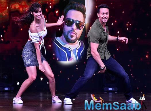 Tiger-Disha groove to Badshah's rap for the commercial of a cola brand