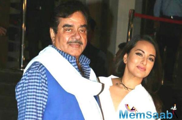 Sonakshi Sinha backs father Shatrughan Sinha's decision to quit BJP