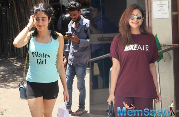 Get a similar look like Parineeti Chopra and make the heads turn in the gym.