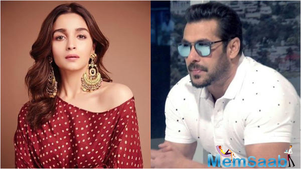 Alia Bhatt reacts to criticism of being paired opposite Salman Khan in Inshallah
