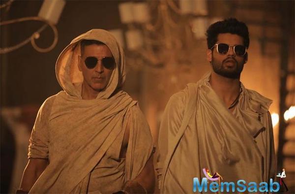 Akshay Kumar shoots special song for brother-in-law Karan Kapadia's film, Blank