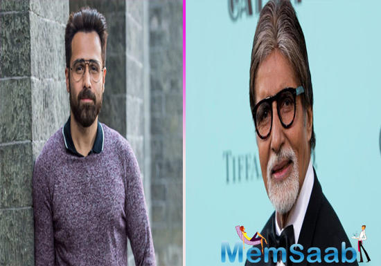 Amitabh Bachchan and Emraan Hashmi to unite for a film for the first time