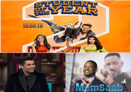 Student Of The Year 2: Will Smith to be a part of this successful franchise? Karan Johar reveals!