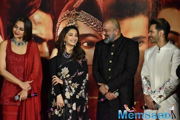 The multi-starrer marks his on-screen reunion with Madhuri Dixit-Nene 22 years since their last outing, Mahaanta (1997).