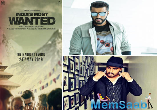 Arjun Kapoor-starrer India's Most Wanted teaser to be out April 16