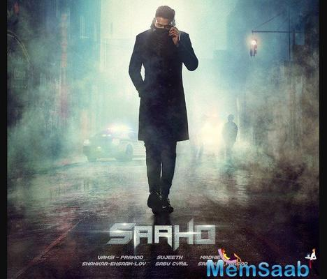 Prabhas gets romantic with Shraddha Kapoor in new still of Saaho