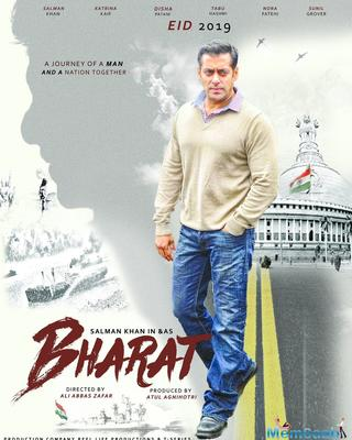 Bharat new poster is out! Salman Khan's older look from the film revealed