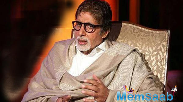 Amitabh Bachchan supports fire safety campaign 'Chalo India'