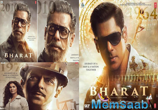 The first and second posters of the film are also quite intriguing. The first poster features Salman in a salt-and-pepper look, while the second one features him as a strapping young man.
