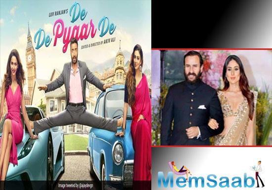 De De Pyaar De: Saif Ali Khan reacts to Ajay Devgn's dialogue about Saif-Kareena's age difference